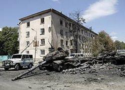 Саакашвили заявил, что лично видел, как Россия уничтожала Цхинвали