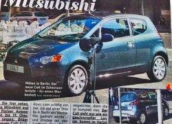 Обновленный Mitsubishi Colt покажут осенью в Париже