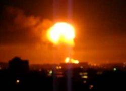 Очевидцы сняли на видео взрыв в Торонто