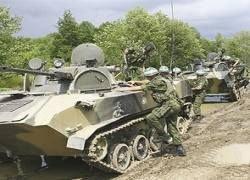 Грузия: русские танки вошли в Гори. Миротворцы это опровергают