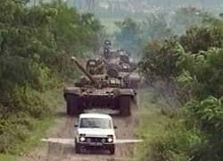 Российские танки не доехали до Тбилиси