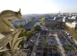 Названа самая популярная парижская достопримечательность