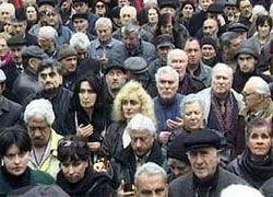 Жители Грузии бегут от Саакашвили