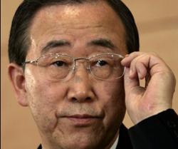 Генсек ООН одобрил план Саркози