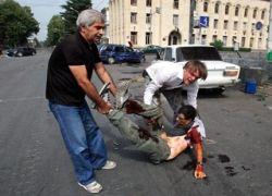 Российские СМИ выдают бомбардировку за ДТП?