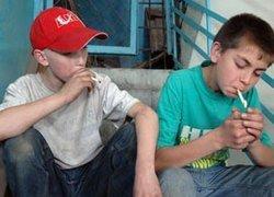 В России курит каждый шестой школьник