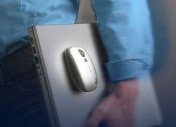 Беспроводная лазерная мышь с секретом от Logitech