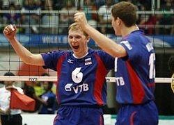 Российские волейболисты победили олимпийских чемпионов