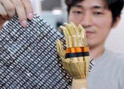 В Японии создали электронную кожу