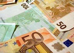Курс евро падает из-за сокращения экономики еврозоны