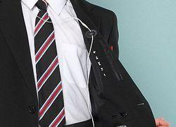 Школьный пиджак со специальными кнопками управления плеером