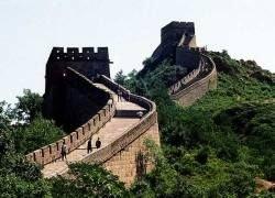 До Великой Китайской стены можно доехать на поезде