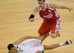 Олимпийская сборная России по баскетболу проиграла Латвии