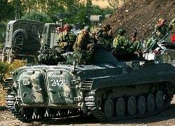 Российская армия из Гори пока не уходит