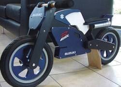 Suzuki выпустил спортбайк для малышей