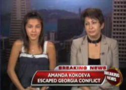Девочка рассказала о войне в Грузии