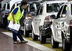 Китайский автомобильный рынок сдает позиции