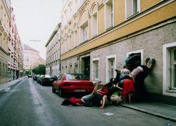 Заполнить телами городские пространства