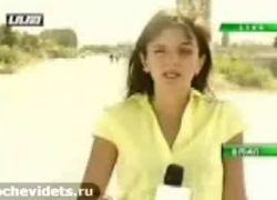 Российский снайпер ранил грузинскую телеведущую