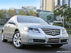 Honda представила обновленный Legend
