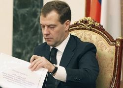 Медведев подписал «план шести принципов»