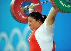Кореянка завоевала золото Игр-2008 с мировым рекордом