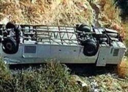 В Бразилии автобус упал в ущелье, 8 человек погибли