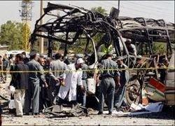В Афганистане в результате взрыва погибли 10 полицейских