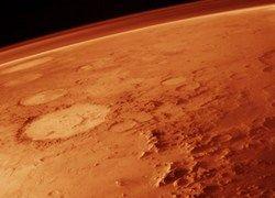 В атмосфере Марса обнаружены следы органической жизни