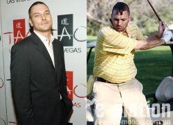 Звезды до и после диеты