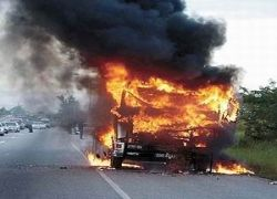 Авария с грузовиком в Италии
