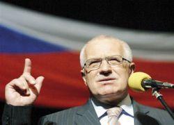 Глава Чехии назвал виновных в конфликте на Кавказе