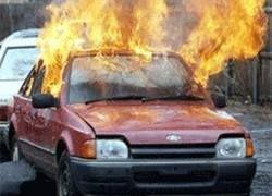 В Петербурге за час сожгли шесть автомобилей