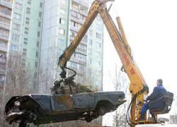 В Москве за 10 дней с обочин уберут весь новый автохлам