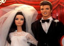 Куклы Элвиса и Присциллы Пресли