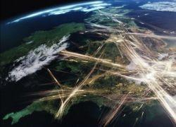 Виды мегаполисов со спутника