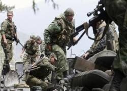 Российские военные взяли в плен грузинских офицеров