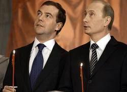 """Кто и какие роли играет в тандеме \""""Медведев - Путин\""""?"""