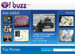 Сервис Yahoo Buzz открыт