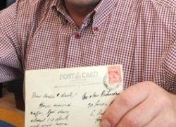 В Великобритании почтовая открытка пришла по адресу через 79 лет