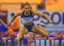 Американка победила на 100-метровке с барьерами