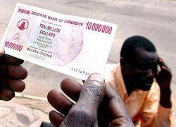 Уровень инфляции в Зимбабве достиг 11 млн. процентов в год