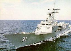 Американский фрегат не пустят в порт Петропавловска