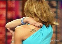 Олимпийские татуировки