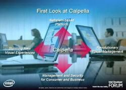 Ноутбук от Intel на базе мобильной платформы нового поколения