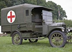 Такие разные кареты скорой помощи
