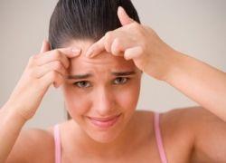 Прыщи влияют на состояние нервной системы