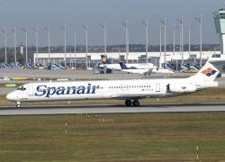 Причиной катастрофы самолета в аэропорту Мадрида мог стать взрыв