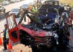 В Иране перевернулся грузовик с нелегалами: 29 жертв