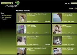 Microsoft открыла сервис редактирования фотографий Photosynth